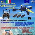 Drone GPS auto ritorno mantiene posizione vid dire