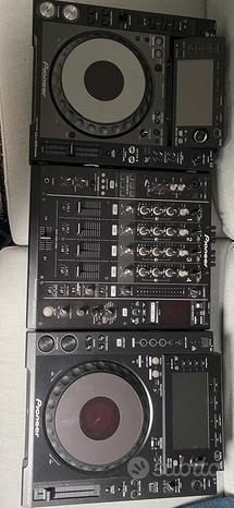 CDJ 2000 nexus + CDJ 900 nexus + DJM 900 nexus