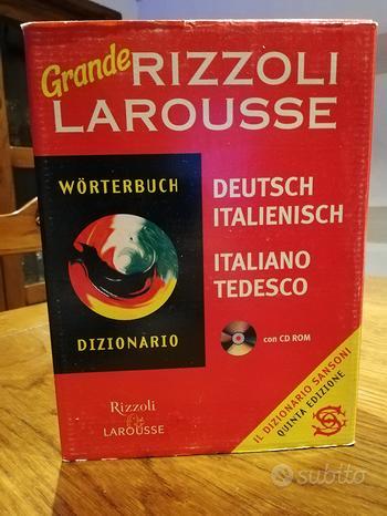 Dizionario tedesco italiano