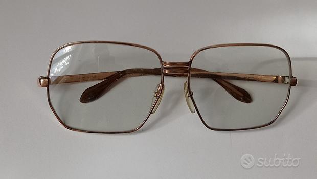 Occhiali vintage anni 70 fotocromatici