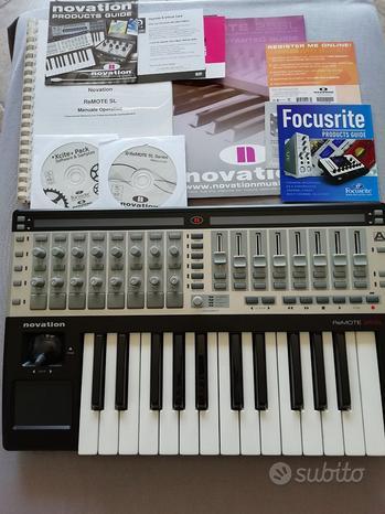 Novation Remote SL25 midi tastiera controller korg