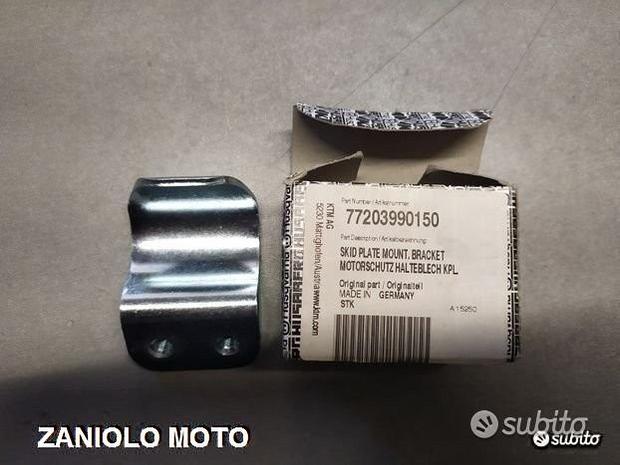 Piastrina protezione motore ktm