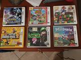 6 giochi × Nintendo 3DS/2DS