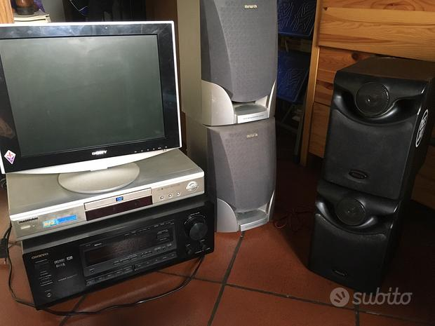 Amplificatore casse dvd monitor