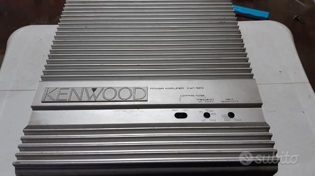 Amplificatore kenwood 2 canali mono stereo