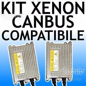 Kit xenon slim h7 h4 h1 h11 professionali canbus