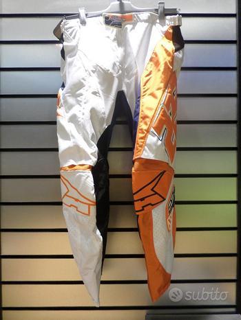 Pantalone AxoTC 222 BIANCO / ARANCIO