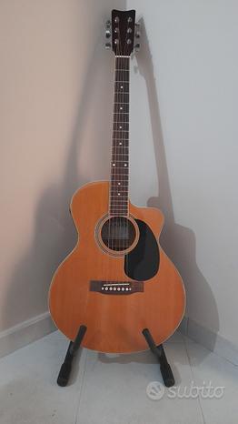Chitarra acustica amplificata ASAHI