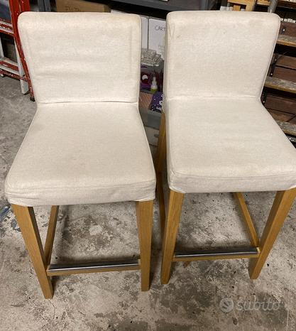 2 sgabelli Ikea per cucina