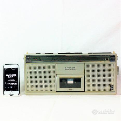 Cassa bluetooth speakers grundig rr650 anni 80 por