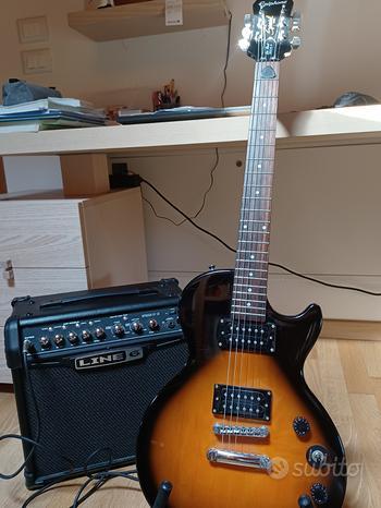 Chitarra elettrica amplificata