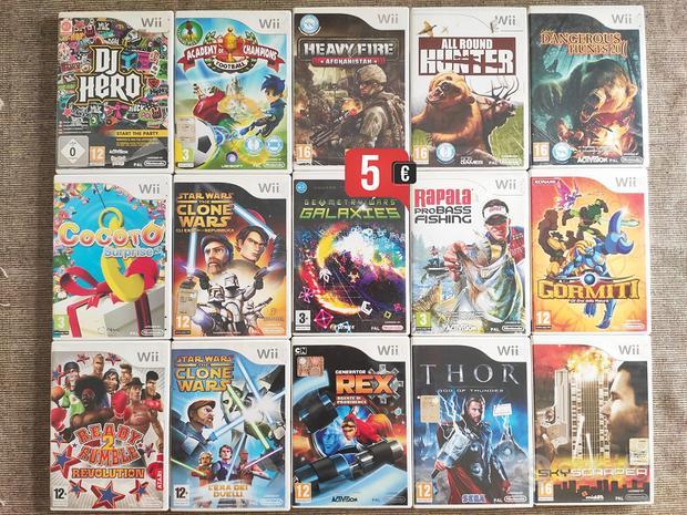 Giochi Nintendo Wii-WiiU 5-10-15 / valuto scambi