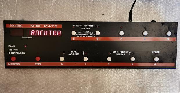 Pedaliera Controller Midi Rocktron MidiMate