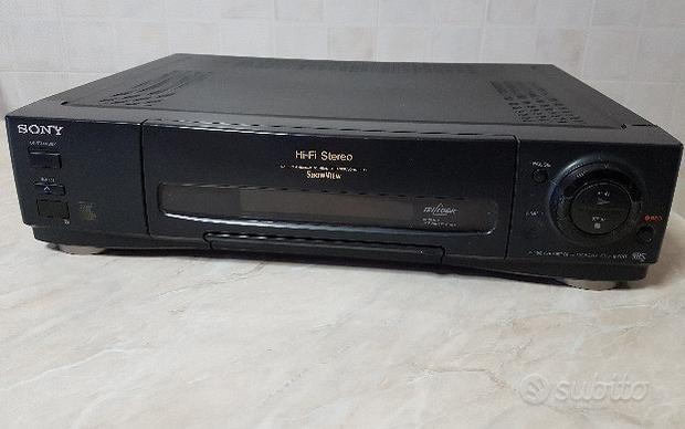 Videoregistratore VHS Sony SLV-E700