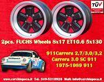Cerchi 8x17 Porsche 911 Carrera SC RS Fuchs