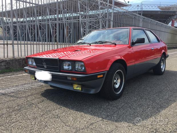 Maserati Biturbo SI - ASI TARGA ORO - Km 38400