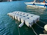 Pedana Piattaforma per moto d'acqua
