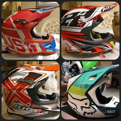 Casco motocross FOX JUST1 AIROH taglia S, M
