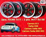 4 cerchi 7x17+9x17 Porsche 911 Carrera SC RS Fuchs