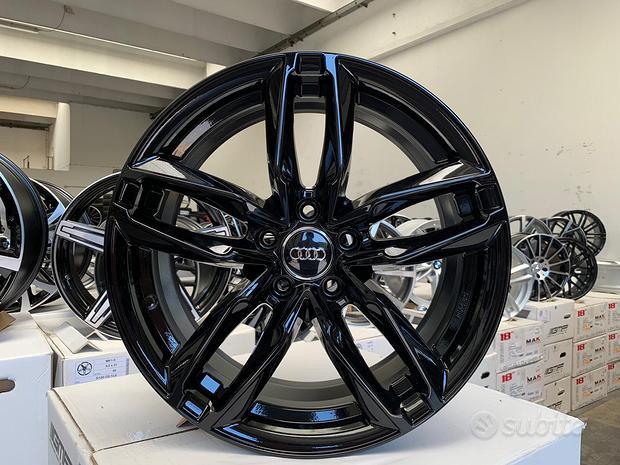 Cerchi Audi raggio 17 BLACK cod.4982238