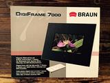 Braun digiframe 7000 cornice digitale