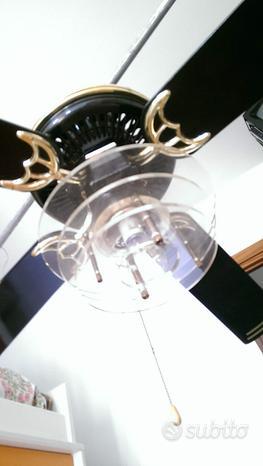 Ventilatore soffitto con luce