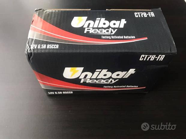 Batteria unibat ready ct7b-fa precaricata