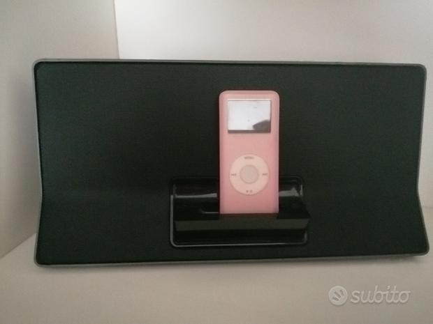 Cassa diffusione musica Philips+iPod nano Apple