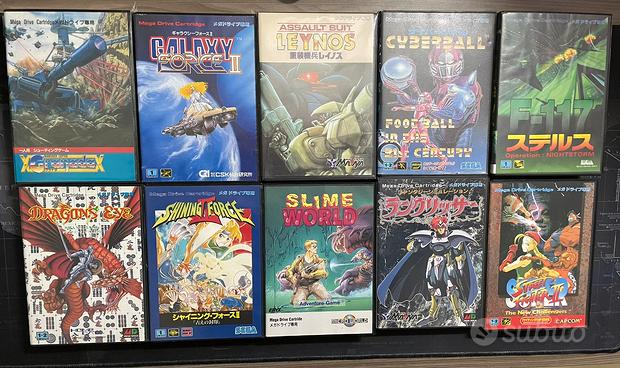 Giochi Sega Mega Drive Jap
