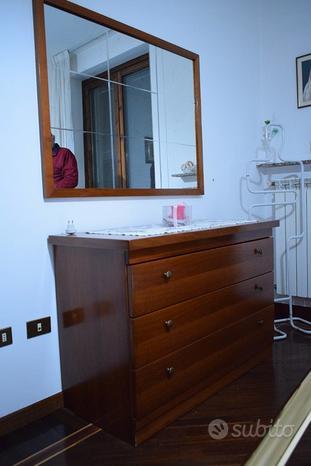Camera arte povera legno massello