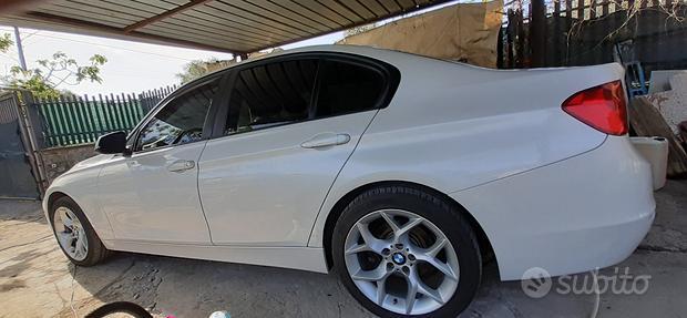 BMW 318 d (f30) bianco perla