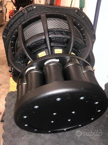 Pride UFO subwoofer 10.000 WATT - kit 16 + ampli