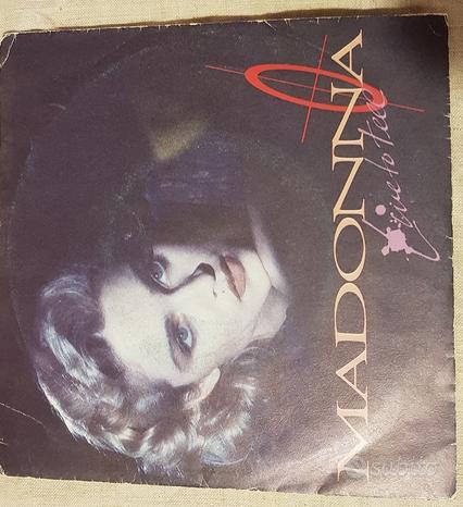 45 giri - Madonna - Live to tell