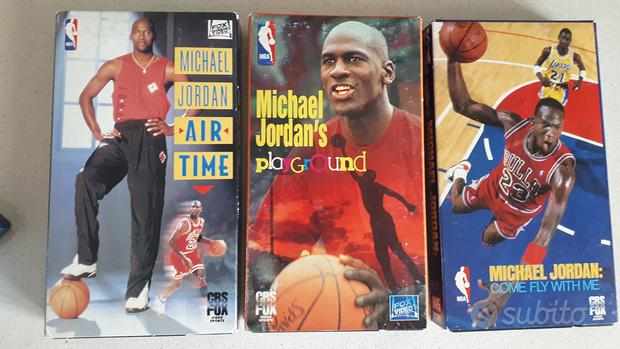 VHS Michael Jordan cofanetto