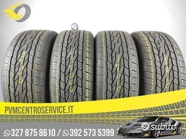 Gomme Usate 225 55 18 continental 4stagioni 17000