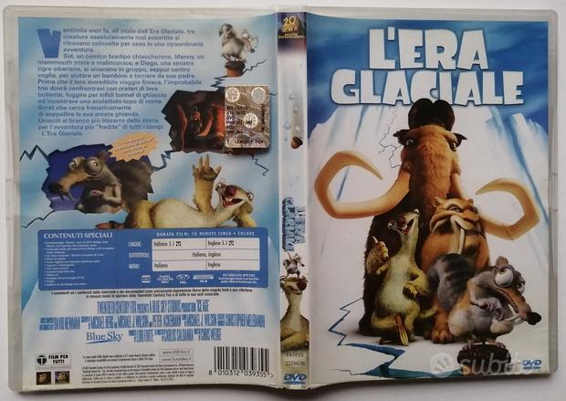 L'era glaciale 1 E 2 DVD originali