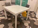 Tavolo Calligaris bianco quadrato 90cm Allungabile