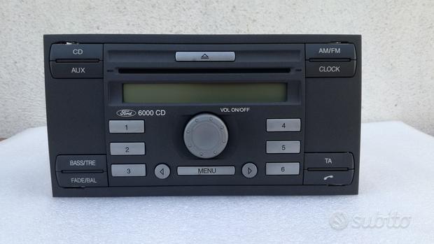 Autoradio Ford 6000 cd da sistemare i per ricambi