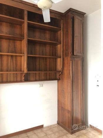 Armadio libreria noce nazionale