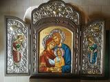 Sacra famiglia in stile bizantino