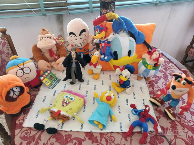 Action figures,happy meal,peluches,accessori