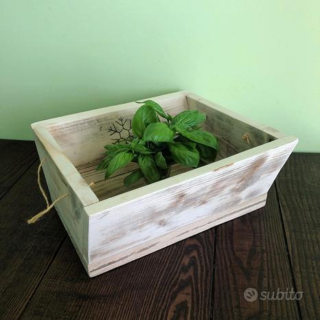 Centrotavola in legno personalizzato