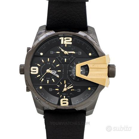 [NUOVO] Diesel DZ7377 Black Strap Leather