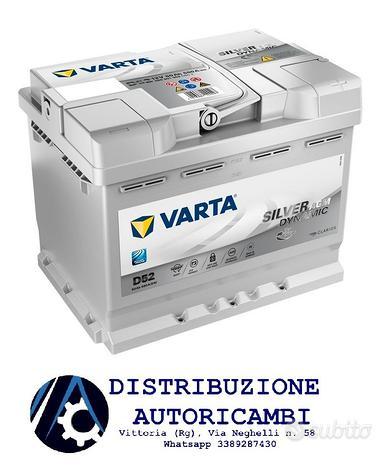 BATTERIA AUTO VARTA 60Ah 12V 680A D52 AGM Start&St