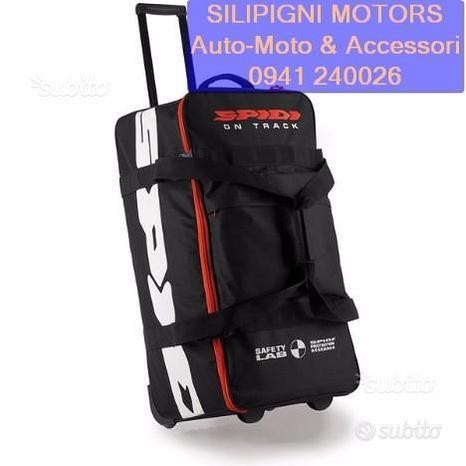 Spidi rider bag - v72 nero 026 borsone valigia 82