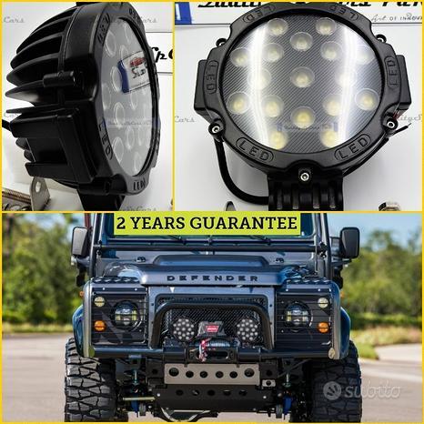 2 FARI LED per LAND ROVER OFF-ROAD FUORISTRADA SUV