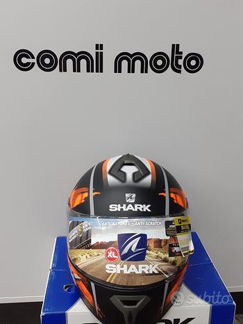 Casco shark s600 track matt arancio