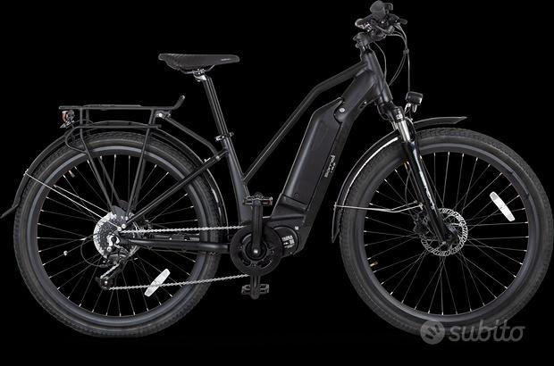 Bici a pedalata assistita motore centrale torque