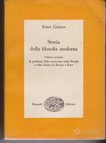 Storia della filosofia moderna vol.2