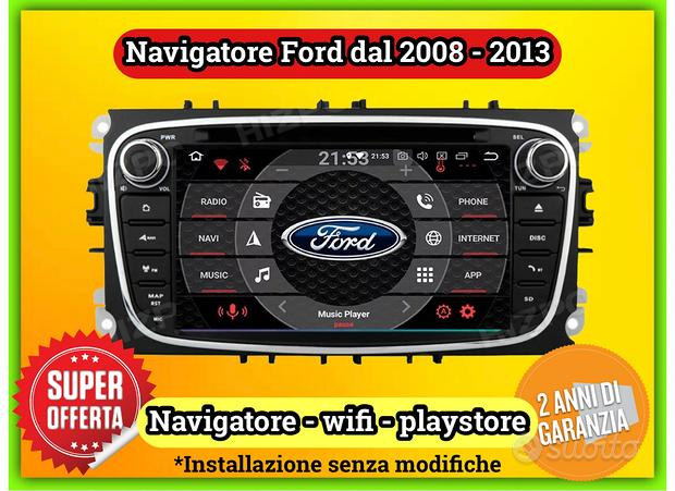 Navigatore Ford touch screen Android wifi USB